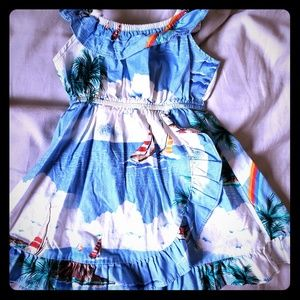 2t Hawaiian dress